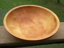 Vtg. Munising Wooden Bowl