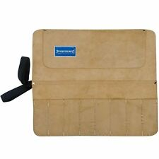 8 Pocket Suede Leather Tool Storage Roll Chisel/spanner Store Pouch Holder Wrap