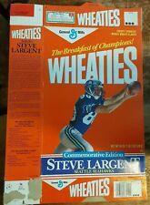 Wheaties Steve Largent Seattle Seahawks 18oz Open Empty Commemorative Edition PC