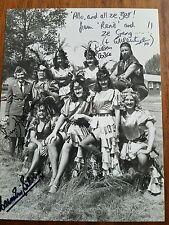 """Allo Allo Cast Signed 7"""" x 5"""" BBC Press Photograph"""
