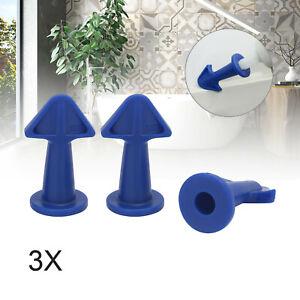 3pcs Silicone Caulking Finisher Glue Nozzle Caulking Grouting Sealant Tool Set
