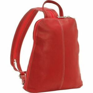 Le Donne Leather U Zip Womans Sling/Backpack 6 Colors Colombian Leather Bag NEW