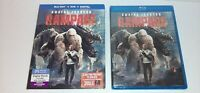 New Rampage Blu-ray Disc DVD Combo The Digital Code Expired Dwayne Johnson Rock