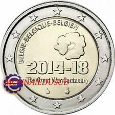 2 Euro Commémorative Belgique 2014 - 100 Ans de la 1ère Guerre Mondiale