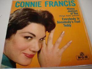 """EP CONNIE FRANCIS """" TEDDY """""""