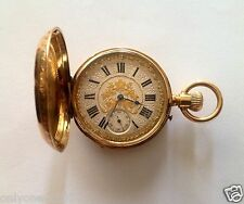 "ANTIQUE 1880 YEAR "" PAUL JEANNOT"" POCKET WATCHE 18K GOLD 50MM 15 RUBIS, RARE!"
