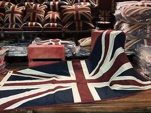Union Jack Large Textile Flag (152cm X 76cm VW)