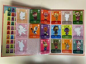 Nintendo Animal Crossing Official Amiibo Collectors Album series 4 & 49 Cards