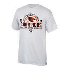 Oregon State Beavers 2021 Pac-12 Men's Basketball Tournament Champions T-Shirt