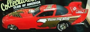 NEW! VINTAGE RACING COLLECTIBLES- NHRA WINSTON DRAG RACING FUNNY CAR (WITH CASE)