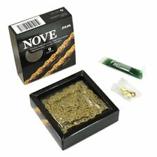 Taya Nove-91(Ul) 9 Speed 116 link with Missing Link,Ti-Gold Color
