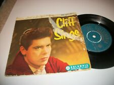 "CLIFF RICHARD- CLIFF SINGS VINYL 7"" 45RPM ORIG UK EP PS"