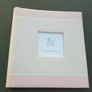 Hallmark Sweet Baby Girl Five Year Memory Book Album Scrapbook