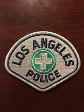 Los Angeles Police Department Shoulder Patch Motor Command Silver Border