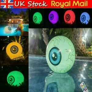 Halloween Inflatable Decoration Eyeball Balloon with LED Light Remote Control