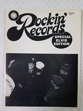 Rockin' Records Special Elvis Presley Edition Jerry Osborne Discography Catalog