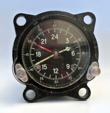 MILITARY CHRONOMETER AIRCRAFT CLOCK 24h SOVIET USSR clock (Model 55M)