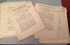 30 Documents De L'IMPRIMERIE Du DÉPARTEMENT DE LA GUERRE sur L'ARMÉE en 1792