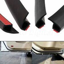 4M P Shape Car Door Window Trim Edge Moulding Rubber Weatherstrip Seal Strip