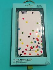 BNIB Kate Spade New York Multi Coloured Confetti  iPhone 6+/6S Plus Case.