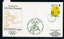 73484) Jeux Olympiques SF Br. Virgin Islands-Los A. - Sydney 2000 Australie