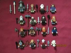 Lot of 8 mini figurines lord of the rings lord of the rings lot 10