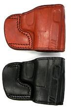 """TAGUA OWB Belt Slide Holster """"Yaqui"""" Black or Brown Leather - Choose Gun & Color"""