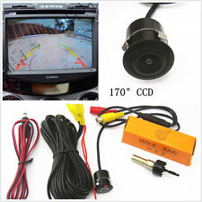 Practical Waterproof 18.5mm CCD Auto Off-Road Rearview Reverse Backup Camera Kit