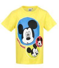 T-shirts, débardeurs et chemises jaunes Disney pour garçon de 2 à 16 ans