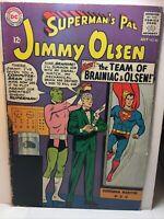 Superman's Pal Jimmy Olsen DC Comics, No 86, 1965, Team of brainiac & Olsen VG+