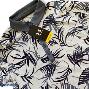 Under Armour Golf Polo Shirt UPF 50 Short Sleeve Womens Size Medium M 1361913