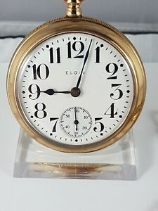 Elgin Natl' pocket watch, very nice collector pocket watch ! working