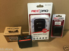 Pack Chargeur Batterie/ Battery Charger REDPRO PANASONIC AG-HPX250, AG-DVX100 ..