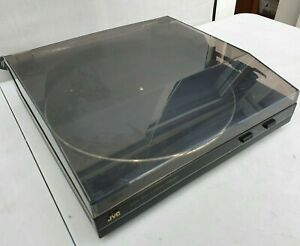 JVC Stereo Belt Drive Turntable Model AL-E33BK