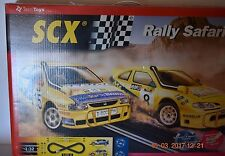 SCX 1/32 Original Rally Safari Racing Slot Car / Track Set