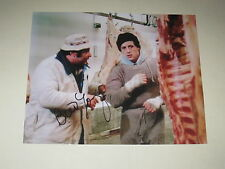 Actor BURT YOUNG Signed 8x10 ROCKY MOVIE Photo BOXING PAULIE AUTOGRAPH 1