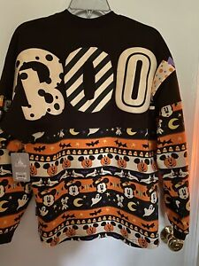 NWT Disney 2020 Halloween Mickey Mouse Halloween Boo Spirit Jersey Adult Size XS