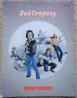 Bad Company 1979 British Tour Programme