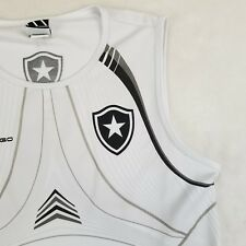 RARE Braziline Official Botafogo Team Soccer Football Jersey T-Shirt Tank Large