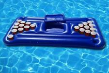 Inflatable Pool Pong Table Float. Beer Pong Lilo Lounger Party Barge UK Stock.