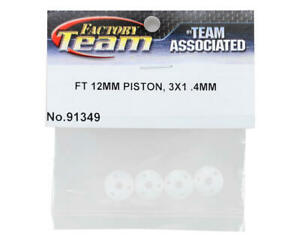 Team Associated ASC91349 FT V1 12mm Big Bore 3 x 1.4mm Tapered Shock Pistons