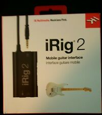New IK Multimedia iRig 2 HD Guitar Interface to Record on iPhone, iOS, Mac, PC