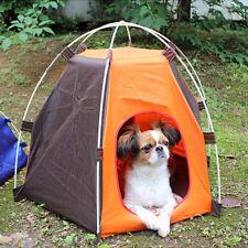 Dog Tent Portable Folding House Waterproof Pet Cat Indoor Outdoor Kennel Bed