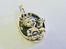 Sterling Silver Baby Pendant Collector  Vintage Authentic King Baby Studio .925