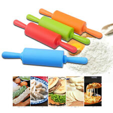1PC Kitchen Silicone Non Stick Rolling Pin Baking Pastry Tool Dough Rolling Pins