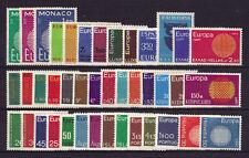 sellos Europa CEPT 1970 completo MNH**