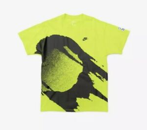 Nike Challenge Court Fireball Andre Agassi T-Shirt Men's Size M CZ9602-389 NWT
