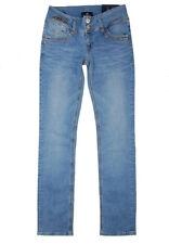 LTB Jeans Jonquil 5346 Slim Fit W25-W32 L30 Damen Stretch Hose Light Blue Used