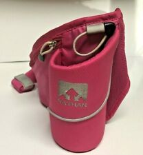 Nathan Triangle Waist Fanny Pack Hydration Belt Water Bottle Bag Pink Running