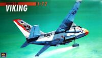 LOCKHEED S-3 A VIKING (U.S. NAVY HIGH VISIBILITY MARKINGS)  1/72 SK ex AIRFIX